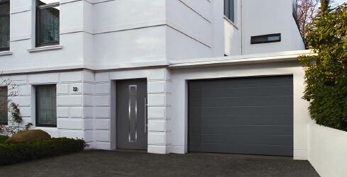Hormann garagedeuren met bijpassende voordeuren